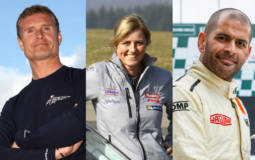 Chris Harris, Sabine Schmitz and David Coulthard are Chris Evans new colleagues