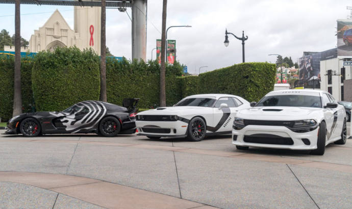 Dodge Charger, Challenger and Viper get Star Wars theme
