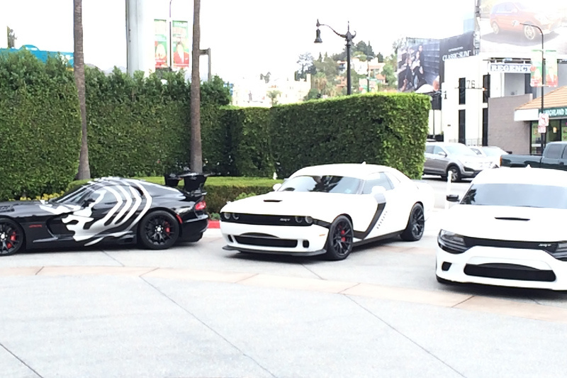 Dodge Hellcat and Viper ACR unveiled with Star Wars trim