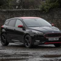 Ford Focus Zetec S Red and Black Editions introduced