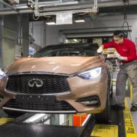 Infiniti Q30 enters production in Sunderland