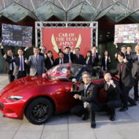 Mazda MX-5 was named Car of the Year Japan