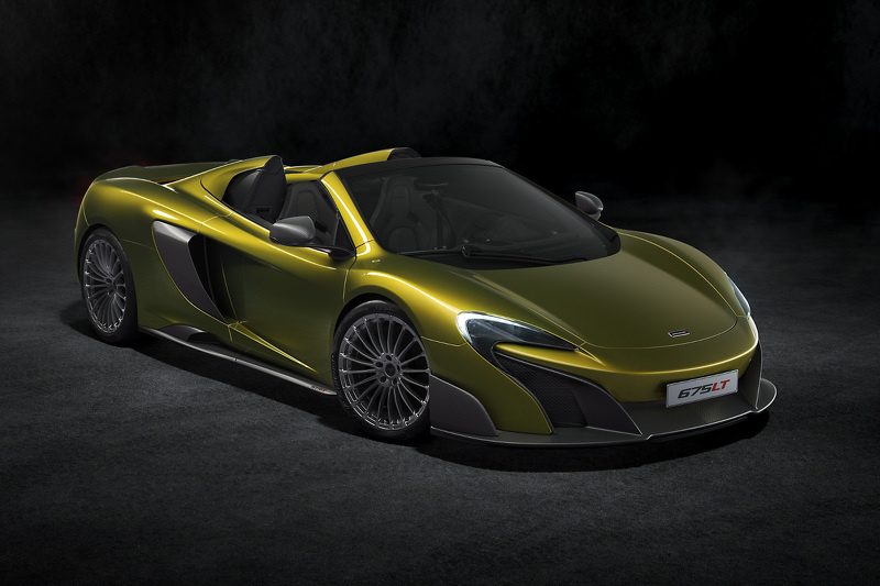 McLaren 675LT Spider is sold out