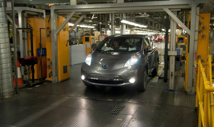 Nissan Leaf celebrates its 200.000 customer