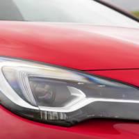 Opel Astra Adaptive LED Matrix detailed