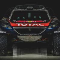 Peugeot 2016 Dakar model revealed