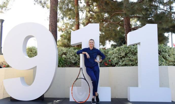 Porsche and Maria Sharapova organize special tennis tournament
