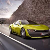 Rinspeed Etos concept is an autonomous BMW i8