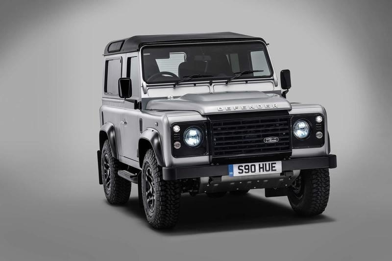 The new Land Rover Defender will be out in 2018