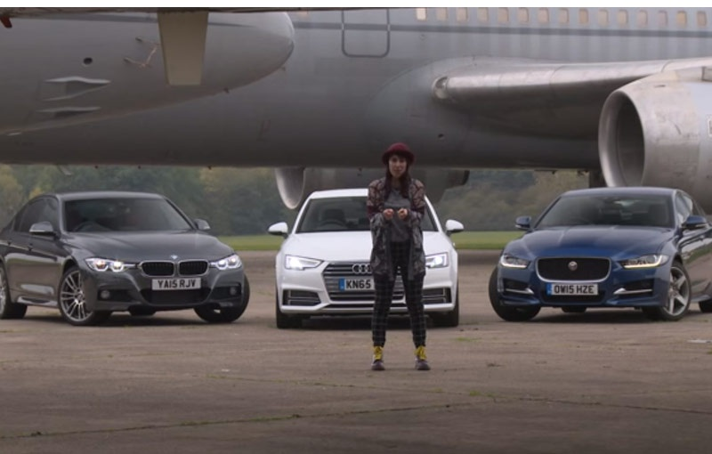 VIDEO: Audi A4 confronts the BMW 3 Series and Jaguar XE