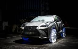 VIDEO: Lexus NX on icy wheels