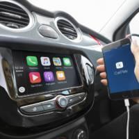 Vauxhall Adam receive new Intellilink R4.0 multimedia system