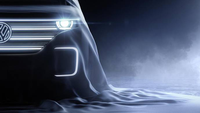 Volkswagen Concept Car announced for 2016 CES Las Vegas