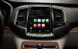 Volvo XC90 features Apple CarPlay, Pandora and Yelp