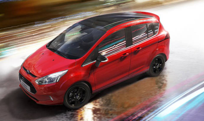 Ford B-MAX Zetec Colour Editions UK prices