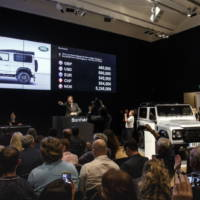 Land Rover Defender 2 million was sold for 400.000 GBP