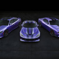 2016 Dodge Challenger and Charger SRT Hellcat in Plum Crazy exterior