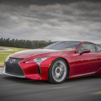 2016 Lexus LC500 supercar unveiled in Detroit