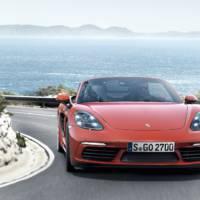 2016 Porsche 718 Boxster unveiled