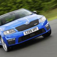 2016 Skoda Octavia vRS 4x4 available in UK