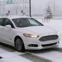 Ford Starts testing autonomous cars on snowy roads