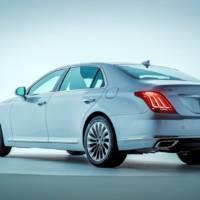 Genesis G90 luxury sedan details and photos