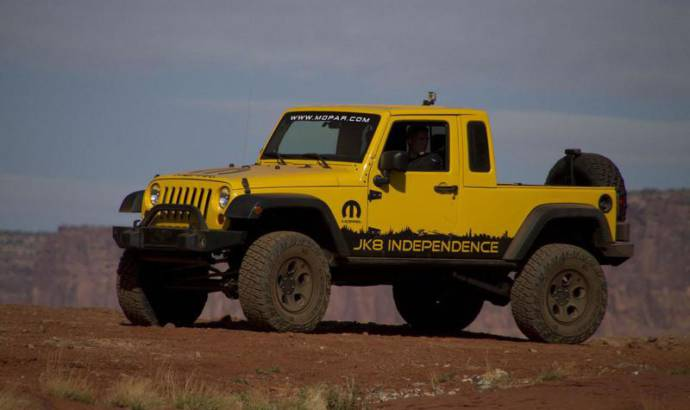 Jeep confirms a pick-up Wrangler
