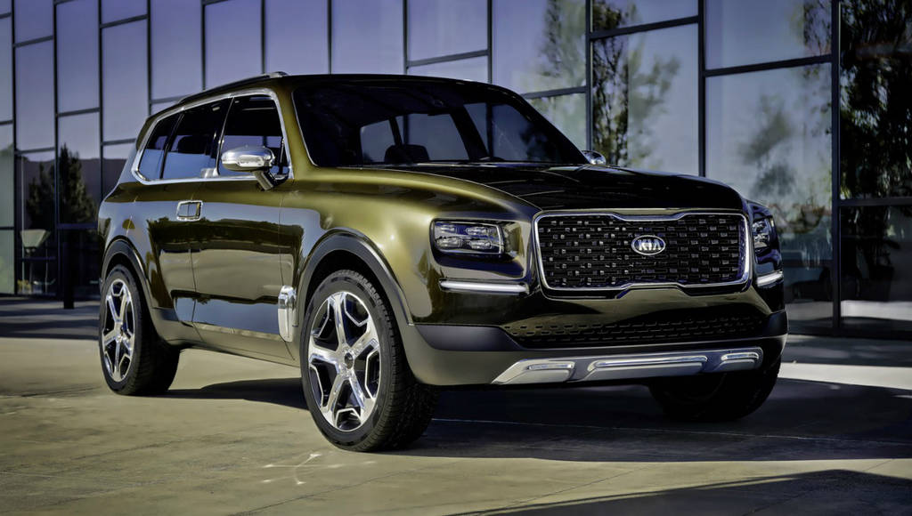 Kia Telluride concept previews an upcoming full-size SUV