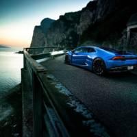 Lamborghini Huracan tuned up to 848 HP by Novitec