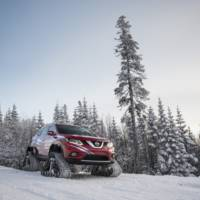 Nissan Rogue Warrior concept has snow tracks