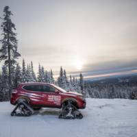 Nissan Rogue Warrior concept has snow tracks