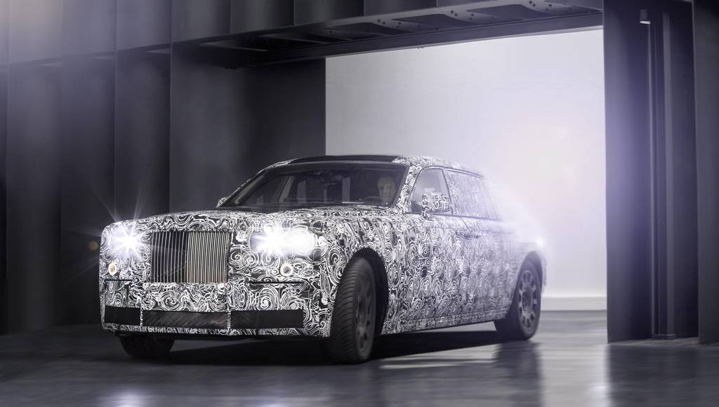 Rolls Royce starts testing new aluminium architecture
