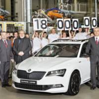 Skoda reaches 18 million cars produced since 1905