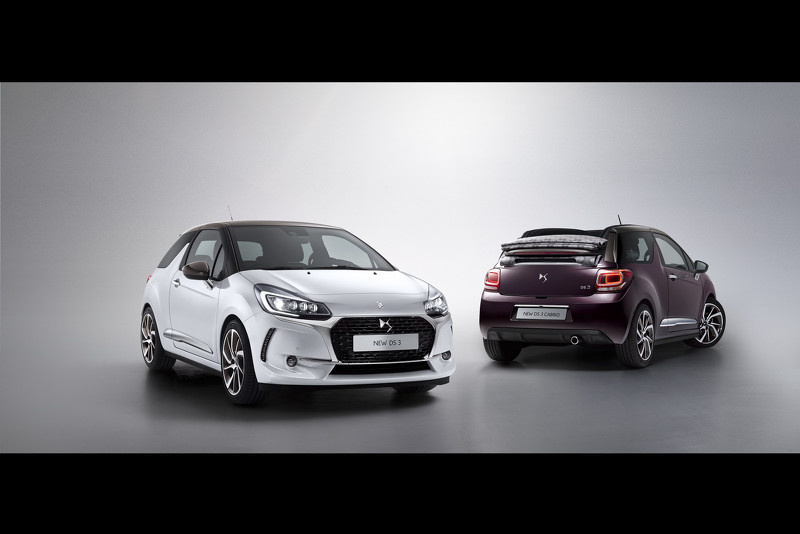 This is the new 2016 DS3 facelift