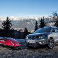 This is the world's first seven-seat bobsled. And it's signed by Nissan