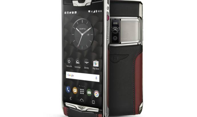 Vertu Signature Touch phone for Bentley