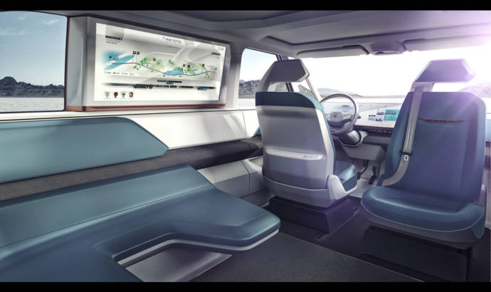 Volkswagen BUDD-e Concept unveiled at CES 2016