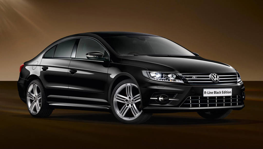 Volkswagen CC Black Edition models launched in the UK