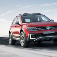 Volkswagen Tiguan GTE Active Concept unveiled at NAIAS