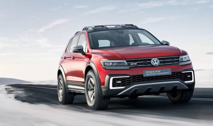 Volkswagen Tiguan GTE Active Concept unveiled at NAIAS