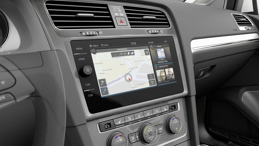 Volkswagen e-Golf Touch Concept unveiled in CES 2016