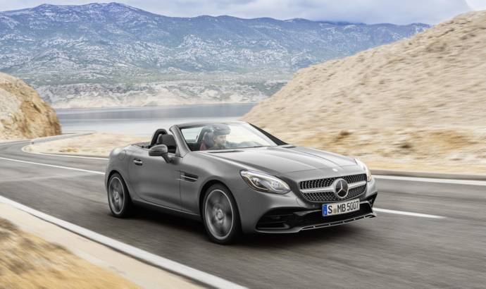 2016 Mercedes SLC facelift launched in the UK