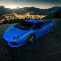 Lamborghini Huracan tuned up to 848 HP by Novitec