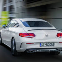 2016 Mercedes AMG C43 Coupe version unveiled