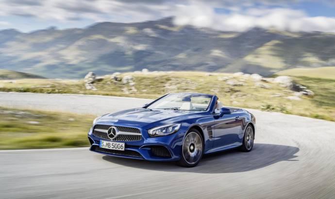 2016 Mercedes SL UK pricing announced