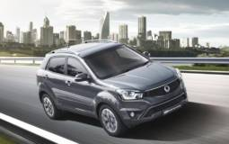 2016 Ssangyong Korando Red introduced in UK