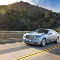 2017 Bentley Mulsanne facelift - Official pictures and details