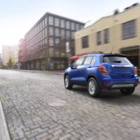 2017 Chevrolet Trax introduced in US