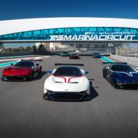 Aston Martin Vulcan owners receive tuition in Abu Dhabi
