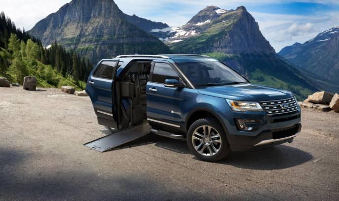 Ford Explorer BraunAbility MXV, a world premiere